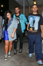 DEMI LOVATO Leaves E11even Nightclub in Miami 01/31/2020