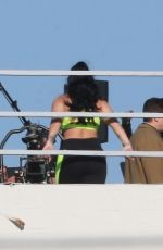 DEMI LOVATO on the Set of a Photoshoot in Los Angeles 02/11/2020
