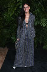 DEMI MOORE at Charles Finch and Chanel Pre-oscar Awards in Los Angeles 02/08/2020