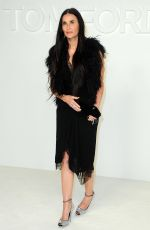 DEMI MOORE at Tom Ford Fashion Show in Los Angeles 02/07/2020