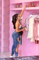 DEMI ROSE MAWBY Shopping at Prettylittlething in Los Angeles 02/24/2020