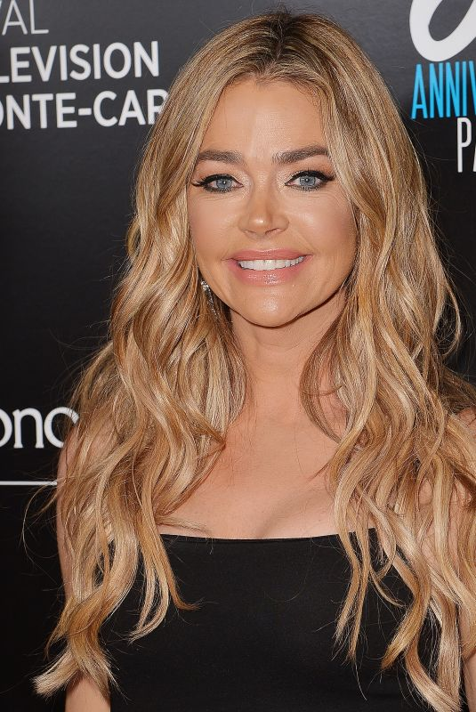 DENISE RICHARDS at Monte-Carlo Television Festival Party in Los Angeles 02/05/2020