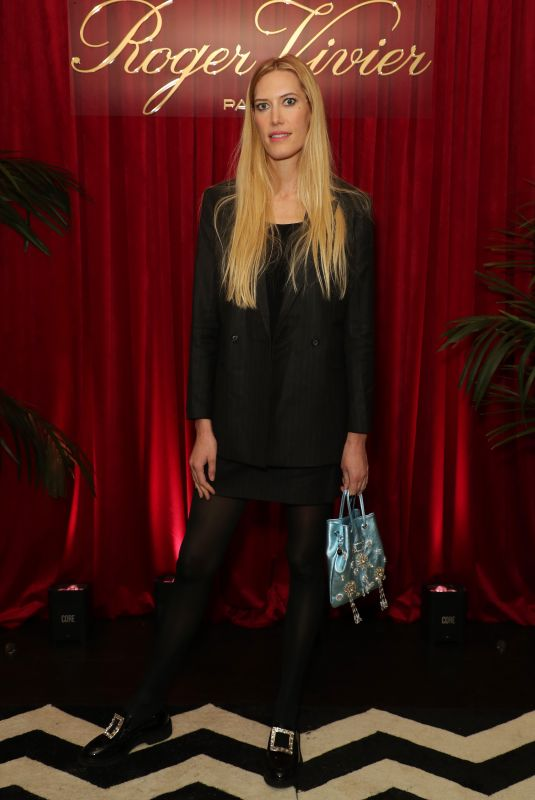 DJUNA BEL at Roger Vivier's Abracashoes Premiere in Los Angeles 01/30/2020