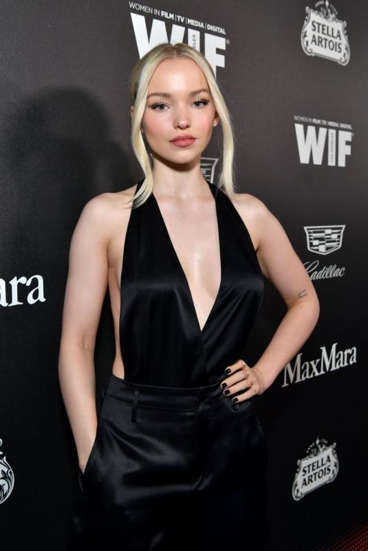 DOVE CAMERON at 13th Annual Women in Film Female Oscar Nominees Party in Hollywood 02/07/2020