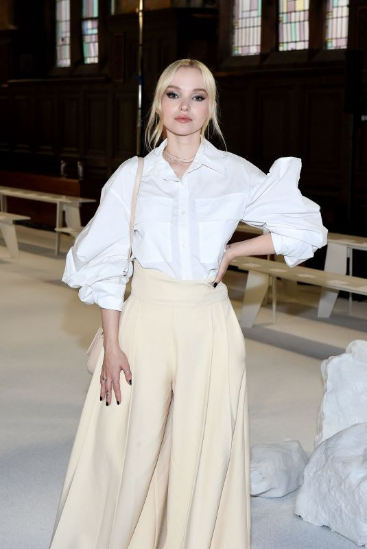 DOVE CAMERON at Adeam Fashion Show in New York 02/10/2020