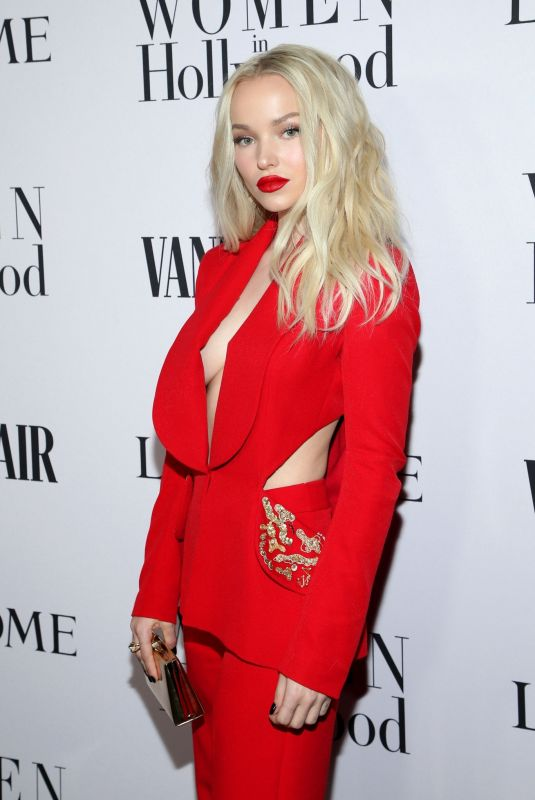DOVE CAMERON at Vanity Fair & Lancome Toast Women in Hollywood in Los Angeles 02/06/2020