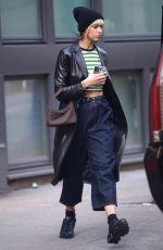 DUA LIPA Leaves Her Apartment in New York 02/19/2020