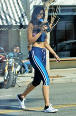 EIZA GONZALEZ in Tights Out in Los Angeles 02/05/2020