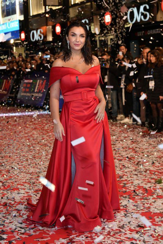 ELETTRA LAMBORGHINI at 70th Sanremo Italian Song Fe02/03/2020