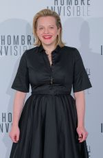 ELISABETH MOSS at The Invisible Man Photocall in Madrid 02/19/2020
