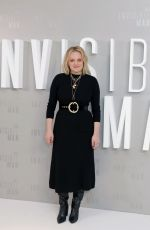 ELISABETH MOSS at The Invisible Man Premiere in London 02/18/2020