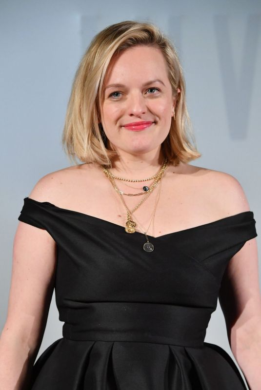 ELISABETH MOSS at The Invisible Man Premiere in Paris 02/17/2020