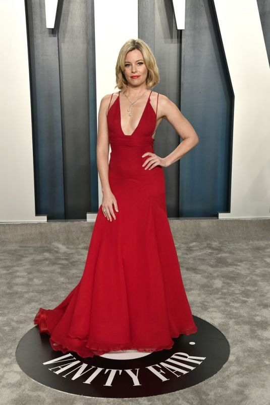 ELIZABETH BANKS at 2020 Vanity Fair Oscar Party in Beverly Hills 02/09/2020