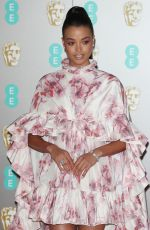 ELLA BALINSKA at EE British Academy Film Awards 2020 in London 02/01/2020