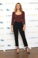 ELLA PURNELL at Belgravia Photocall in London 02/17/2020
