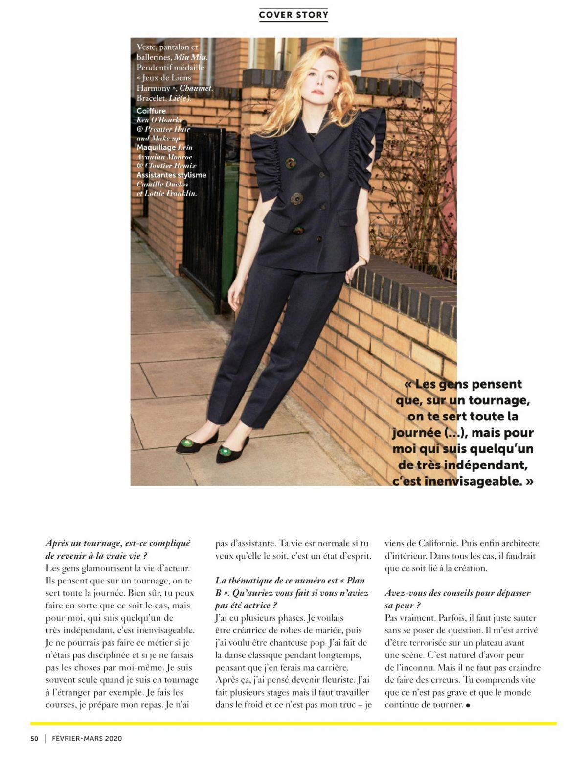 Que Faire En Interieur A Paris elle fannin in glamour paris, march 2020 – hawtcelebs