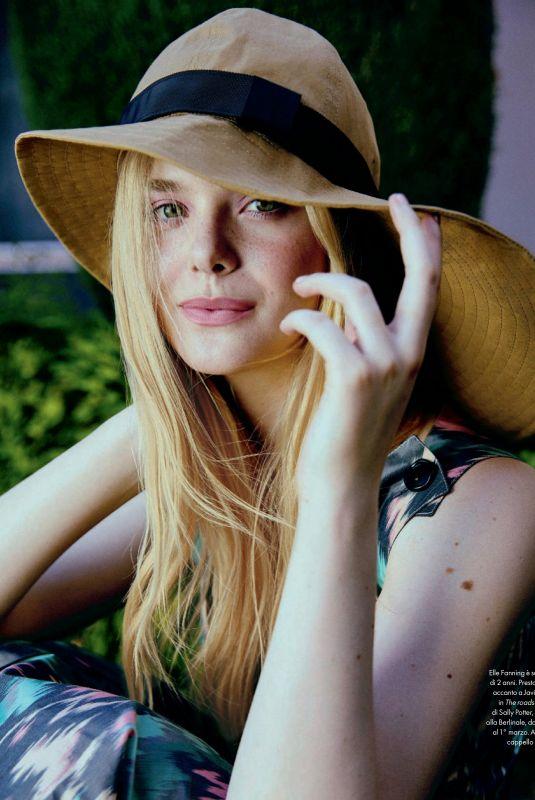 ELLE FANNING in Elle Magazine, Italy February 2020