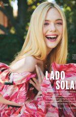 ELLE FANNING in Elle Magazine, Portugal March 2020