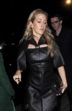 ELLIE GOULDING Arrives at Bafta Vogue x Tiffany Fashion and Film After-party in London 02/02/2020