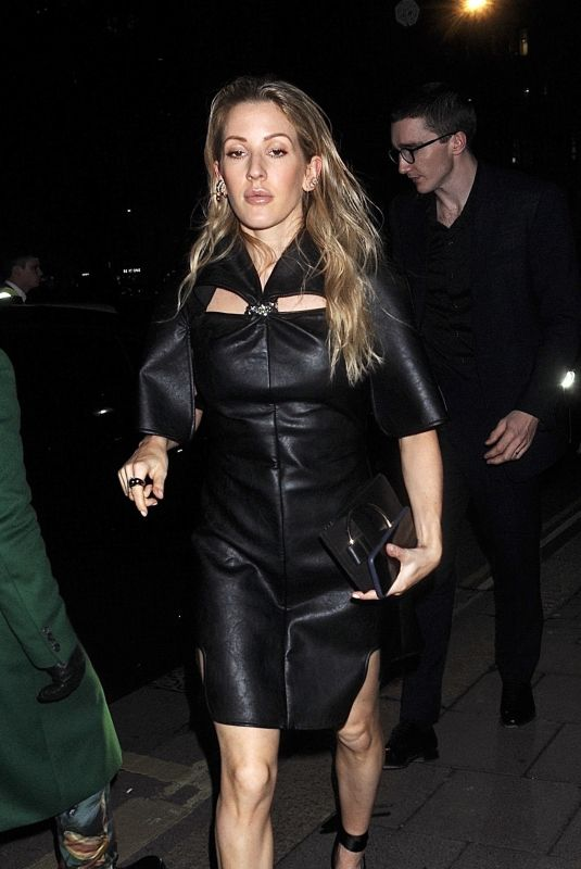 ELLIE GOULDING at Bafta Vogue x Tiffany Fashion and Film After-party in London 02/02/2020