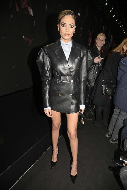 ELODIE at Versace Show at Milan Fashion Week 02/21/2020