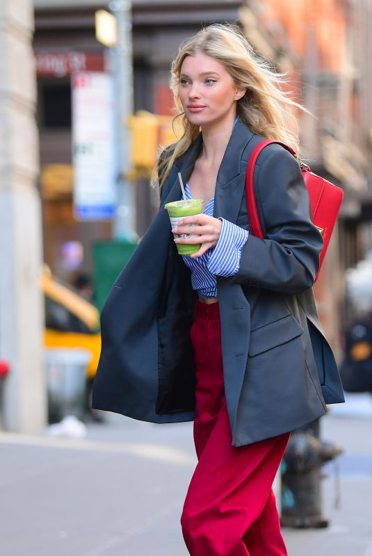 ELSA HOKS Out and About in New York 02/27/2020