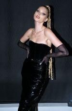 ELSA HOSK at Laquan Smith Runway Show at New York Fashion Week 02/08/2020