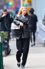 ELSA HOSK Out and About in New York 02/13/2020