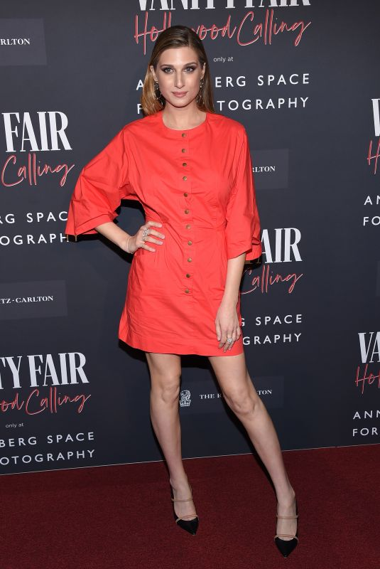 EMILY ARLOOK at Vanity Fair: Hollywood Calling Opening in Century City 02/04/2020