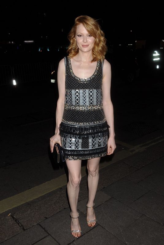 EMILY BEECHAM at Bafta Vogue x Tiffany Fashion and Film After-party in London 02/02/2020