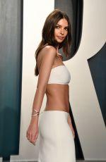 EMILY RATAJKOWSKI at 2020 Vanity Fair Oscar Party in Beverly Hills 02/09/2020