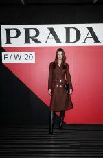 EMILY RATAJKOWSKI at Prada Fashion Show at MFW in Milan 02/20/2020