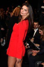 EMILY RATAJKOWSKI at Versace Fashion Show at MFW in Milan 02/21/2020