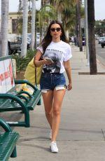 EMILY RATAJKOWSKI in Denim Shorts Out Shopping in West Hollywood 02/27/2020