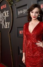 EMMA DUMONT at Locke & Key Series Premiere in Hollywood 02/05/2020