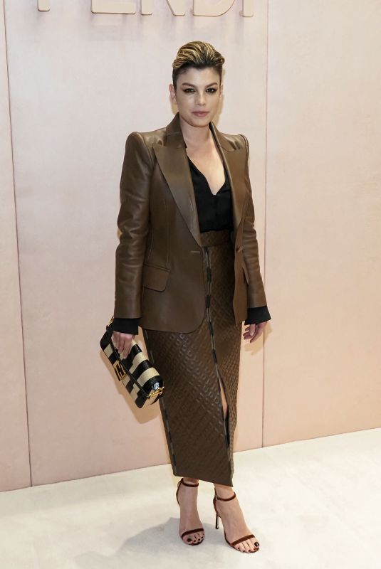 EMMA MARRONE at Max Mara Show at Milan Fashion Week 02/20/2020
