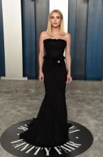 EMMA ROBERTS at 2020 Vanity Fair Oscar Party in Beverly Hills 02/09/2020