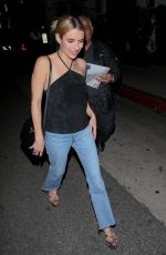 EMMA ROBERTS at Madeo Restaurant in Beverly Hills 01/31/2020