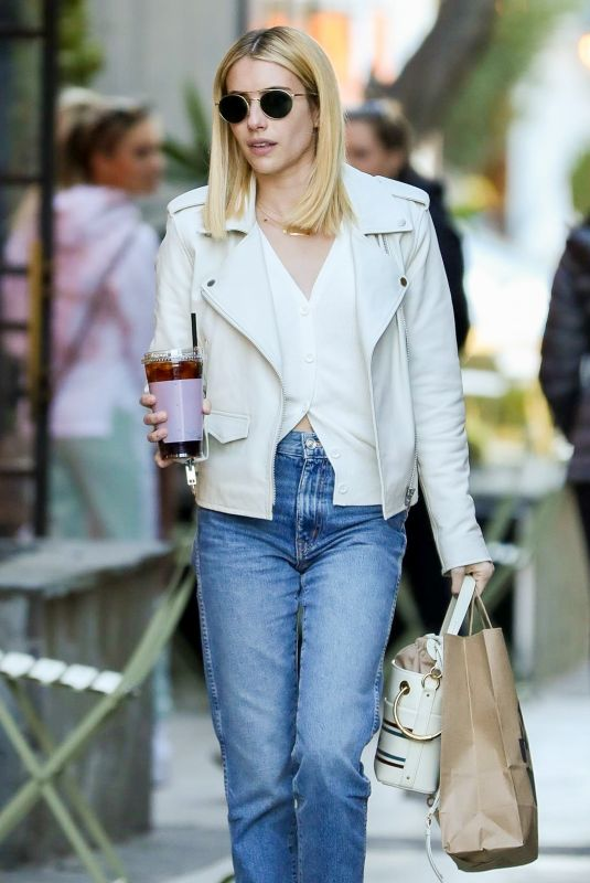 EMMA ROBERTS Out and About in West Hollywood 02/04/2020