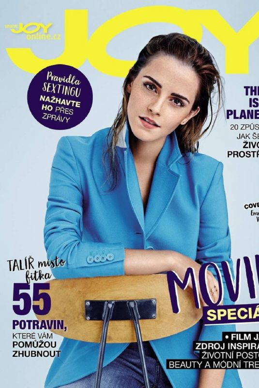 EMMA WATSON on the Cover of Joy Magazine, Czech Republic March 2020