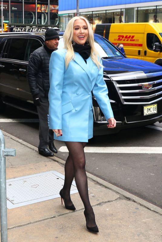 ERIKA JAYNE Arrives at Good Morning America in New York 02/20/2020
