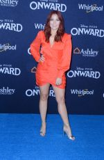 ERIN ROBINSON at Onward Premiere in Hollywood 02/18/2020