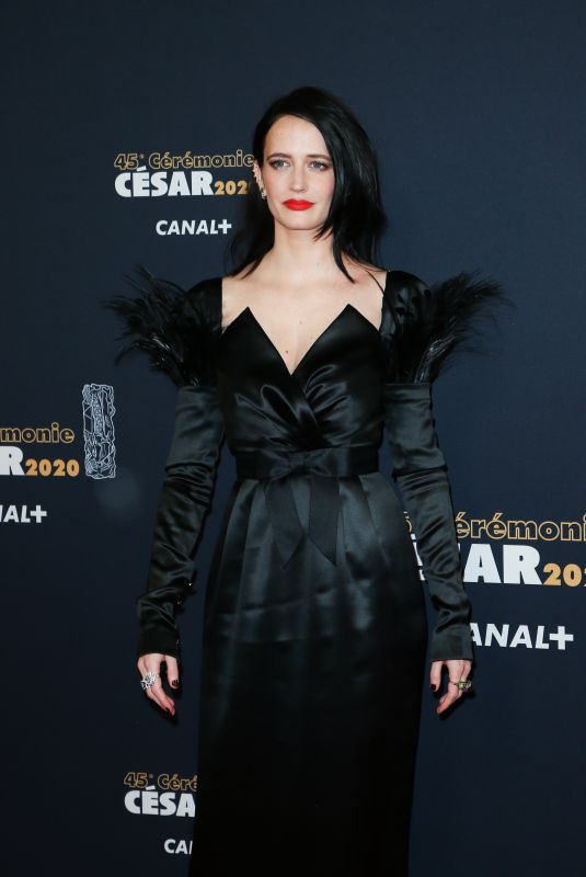 EVA GREEN at Cesar Film Awards 2020 in Paris 02/28/2020