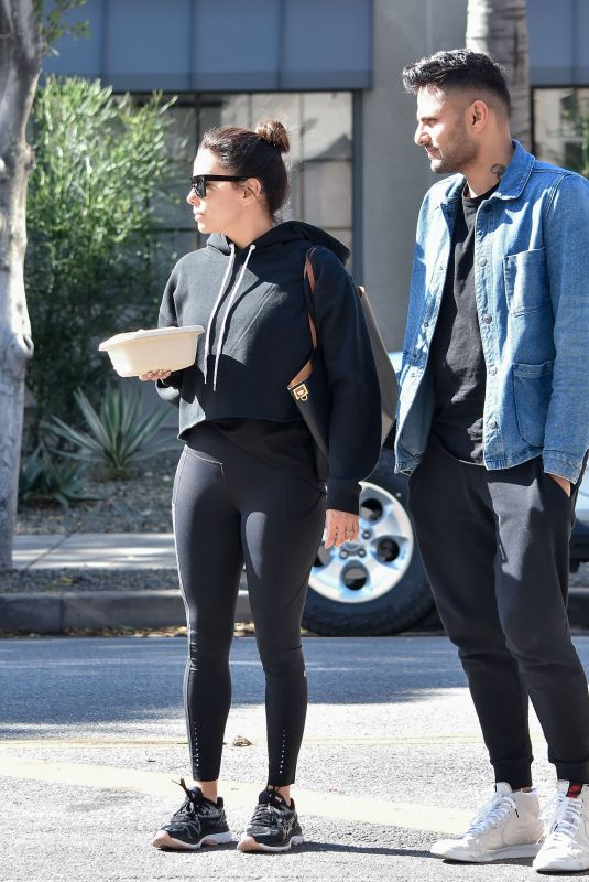 EVA LONGORIA Out and About in Los Angeles 01/31/2020