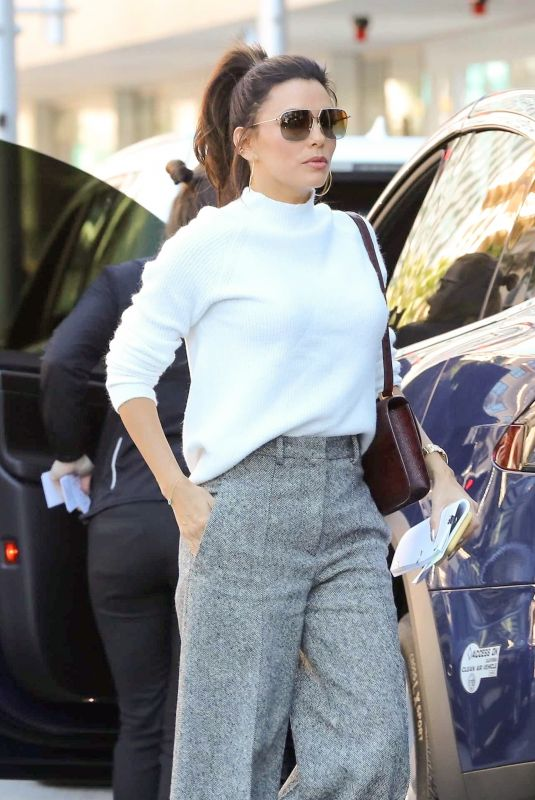 EVA LONGORIA Out and About in Los Angeles 02/06/2020