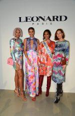 FLORA COQUEREL at Leonard Fashion Show at PFW in Paris 02/27/2020