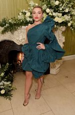 FLORENCE PUGH at Bafta Vogue x Tiffany Fashion and Film After-party in London 02/02/2020