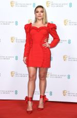 FLORENCE PUGH at EE British Academy Film Awards 2020 Nominees Party in London 02/01/2020