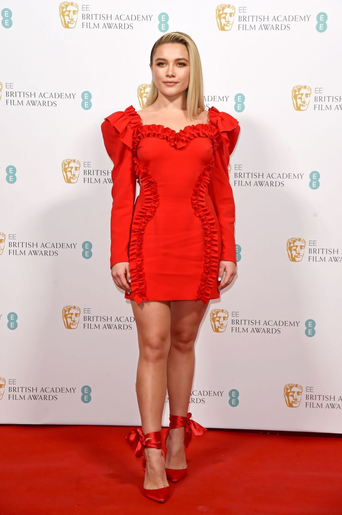 FLORENCE PUGH at EE British Academy Film Awards 2020