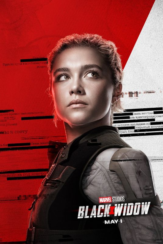 FLORENCE PUGH - Black Widow Poster and Trailer, 2020